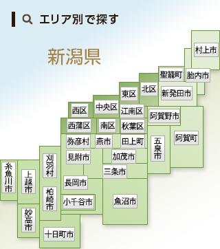 新潟エリアマップ