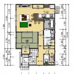 三条市西大崎の不動産【土地】の建物プラン例の間取図