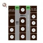 加茂市千刈2丁目の不動産【土地・分譲地】の区画図