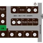 三条市曲渕の土地の敷地図(敷地図)