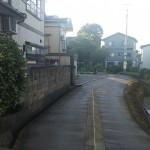 上越市南本町の中古住宅の写真(前面道路)