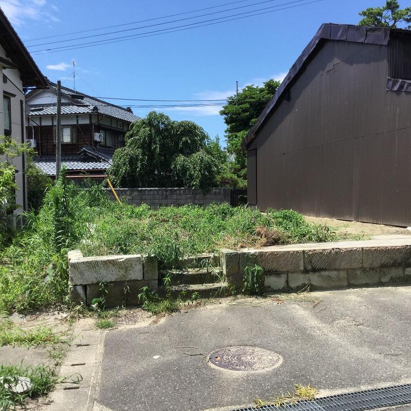 新潟市江南区船戸山の【土地】の写真