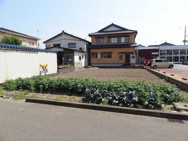 長岡市新保の土地の写真(現地)