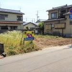 三条市北新保の土地の写真