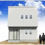 三条市諏訪の土地・分譲地の建物プラン例(区画4)