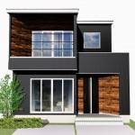 新潟市中央区紫竹の土地の建物プラン例