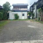 燕市吉田大保町の土地の写真(現地)
