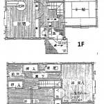 燕市分水弥生町の中古住宅の間取図