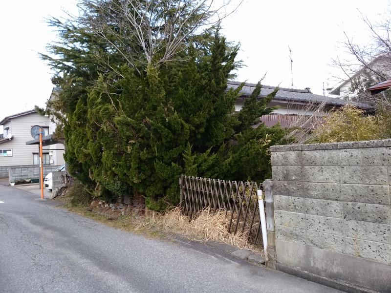 新発田市城北町の土地の写真