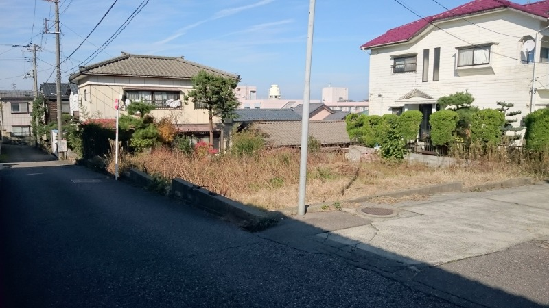 新潟市西区浦山の土地の写真