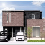 新潟市東区海老ケ瀬の土地の建物プラン例