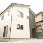 新潟市西区小針南台の新築住宅の写真