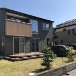 新潟市東区東中野山の中古住宅の外観
