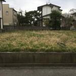 新潟市西区五十嵐2の町の土地の写真