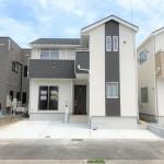 新発田市緑町の新築住宅の写真