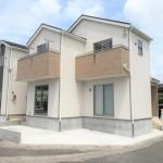 新発田市緑町の新築住宅の外観