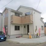 新潟市西区山田の新築住宅の写真