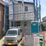 三条市西裏館の新築住宅の写真