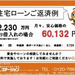 新潟市西区寺尾東の新築住宅のローン返済プラン