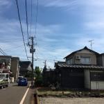 長岡市川崎の土地の写真(前面道路)