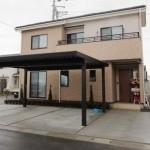 新発田市東新町の新築住宅の写真