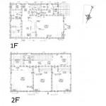 新潟市東区東中野山の新築住宅の間取図