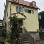 長岡市関原南の中古住宅の外観