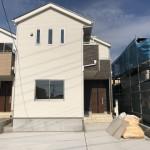 新潟市江南区元町の新築住宅の間取図
