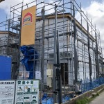 新潟市東区東中野山の新築住宅の写真