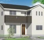 新潟市東区牡丹山の新築住宅の写真