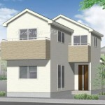 新潟市江南区元町の新築住宅のパース