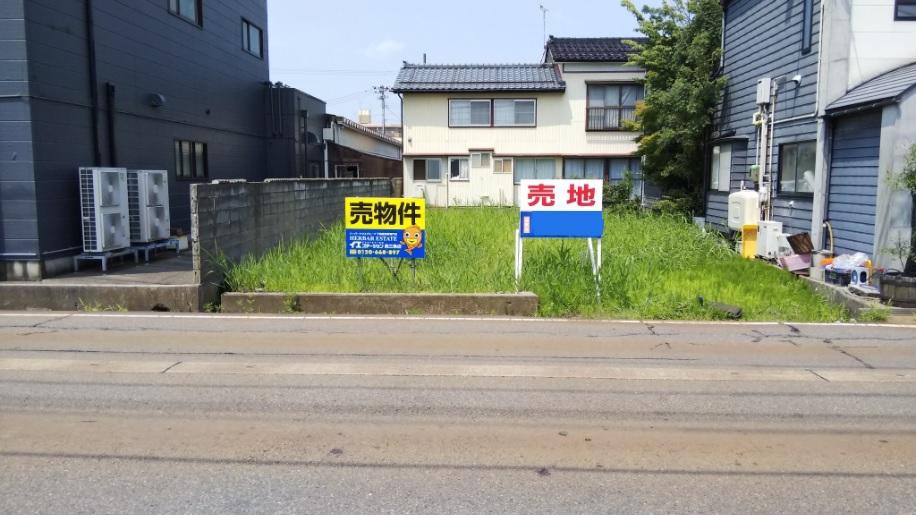 三条市興野の土地の写真