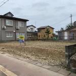長岡市高畑町の土地の写真(現地)