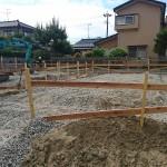 新潟市西区新中浜の新築住宅の写真