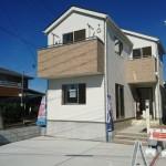 新潟市江南区元町の新築住宅の写真