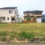 新潟市西区内野西が丘の土地の写真