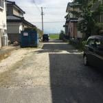 新潟市江南区天野の土地の写真