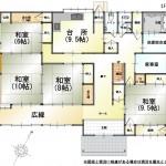 三条市中新の中古住宅の間取図1F
