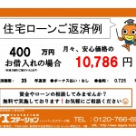 新潟市中央区西大畑町の中古マンションの住宅ローン返済例