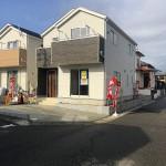新潟市中央区長潟の新築住宅の写真