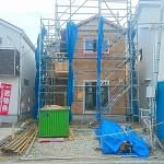 新潟市江南区横越川根町の新築住宅の写真