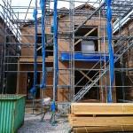 新潟市江南区亀田水道町の新築住宅の写真