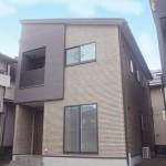 新潟市中央区信濃町の新築住宅の写真