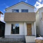 新潟市東区粟山の新築住宅の写真