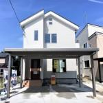 新潟市秋葉区北上の新築住宅の写真