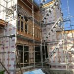 新潟市東区大山の新築住宅の写真