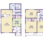 新発田市大手町の新築住宅の写真