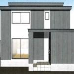 三条市西大崎の新築住宅の写真