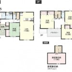 新潟市西区内野西ヶ丘の新築住宅の写真