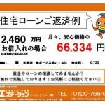 新潟市中央区女池神明の中古住宅の住宅ローン返済例